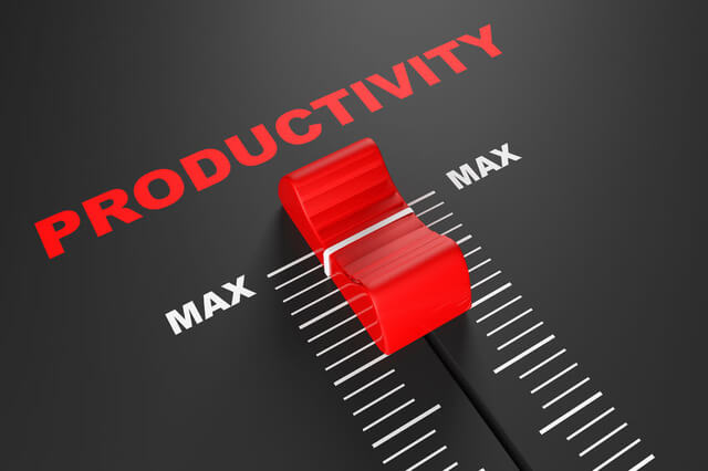 Q1 Productivity is near record highs